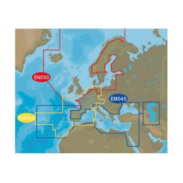 C-MAP MAX N + Central and West Europe