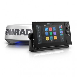 SIMRAD NSS 12 Evo 3S with Halo 20+ Radar Bundle